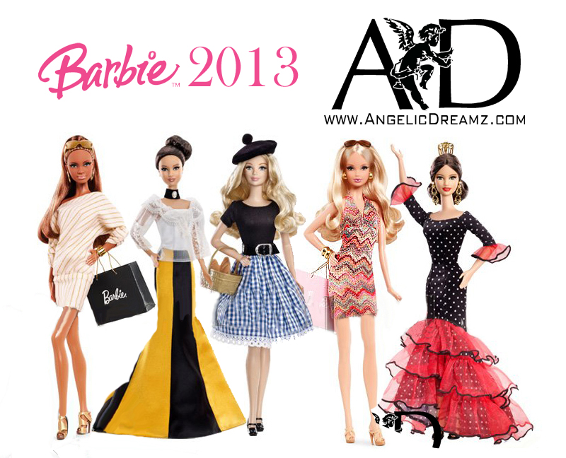 New Barbie Dolls For 2013