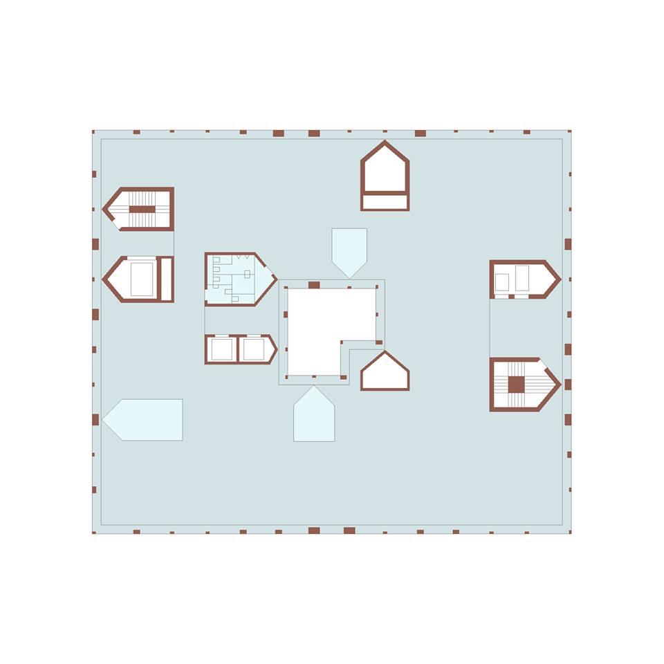 Valerio Olgiati_6 on Floor Plan Rendering