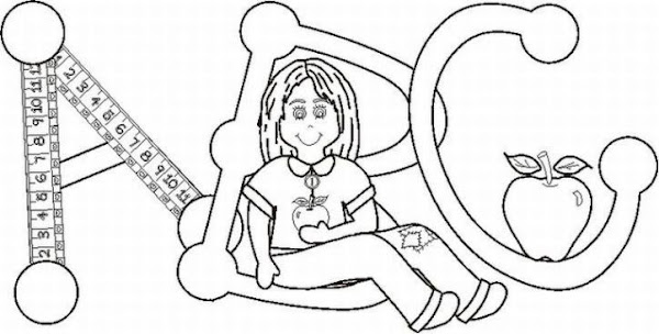 Abc Train Coloring Pages
