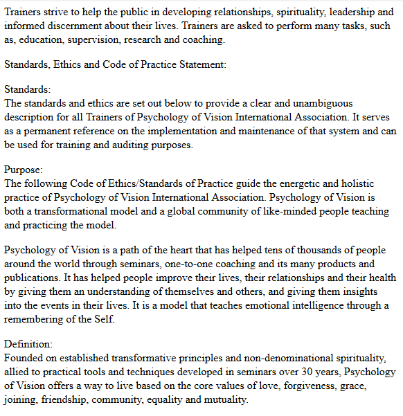 Documents about spezzano and associates ltd psychology of vision httpwebchiveweb20101001220018httppovukeirepagesethicsml fandeluxe Images