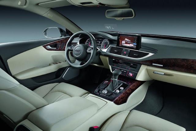 2011 Audi A7 Sportback Front Interior