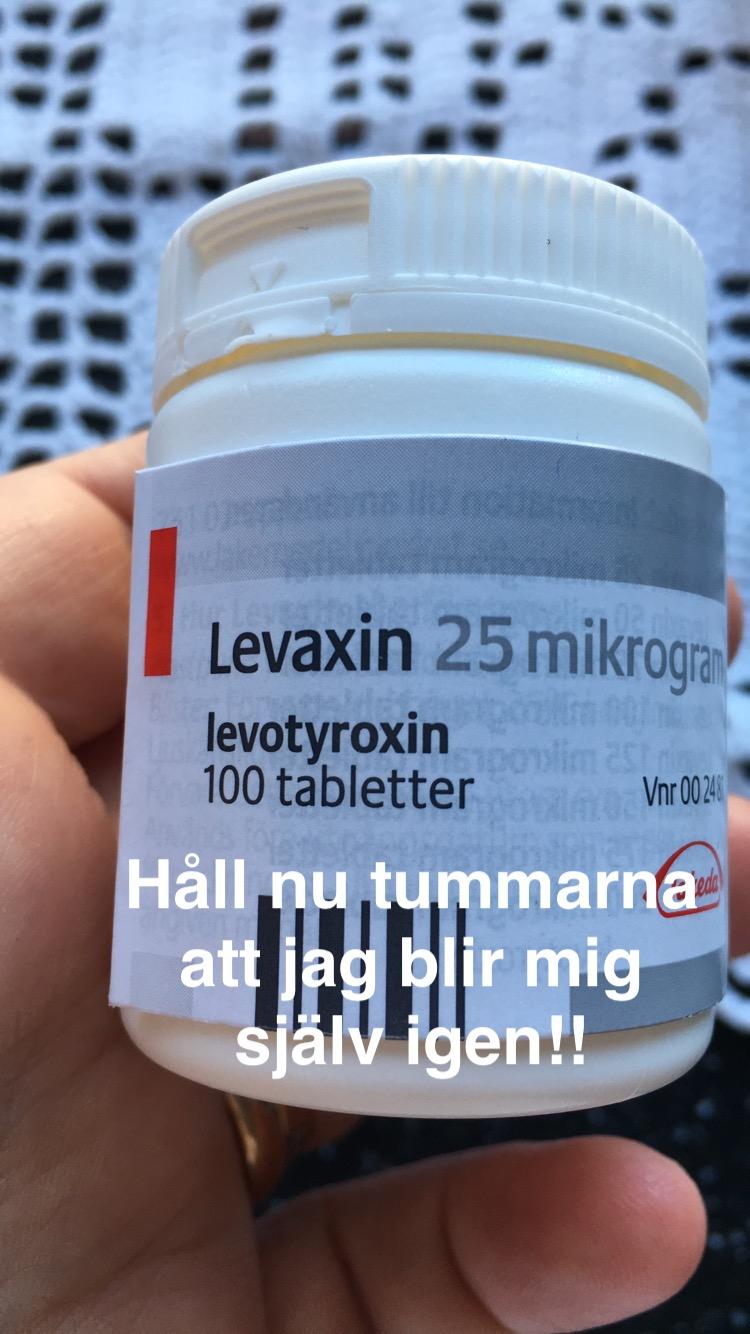 för låg dos levaxin