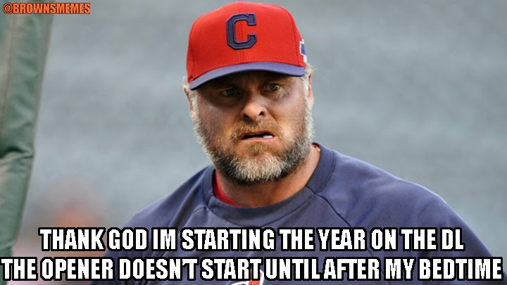 Should Cleveland Indians Bring Jason Giambi Back in 2014 cleveland browns memes,Cleveland Indians Meme