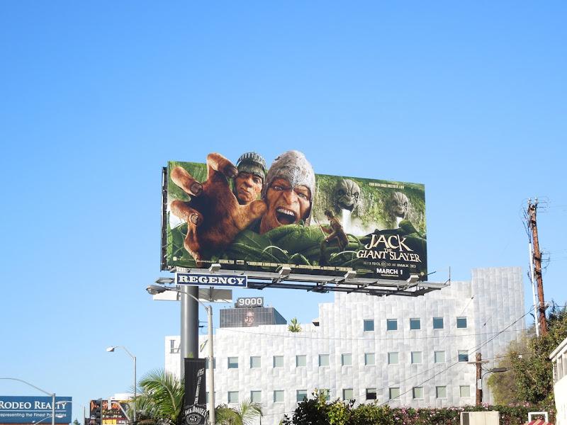 Jack The Giant Slayer movie billboard