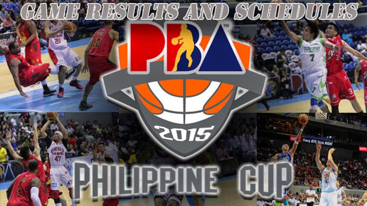 Watch PBA Cup Season 40 2014 - 2015 Live Streaming, Game Result Video Replays and Schedules