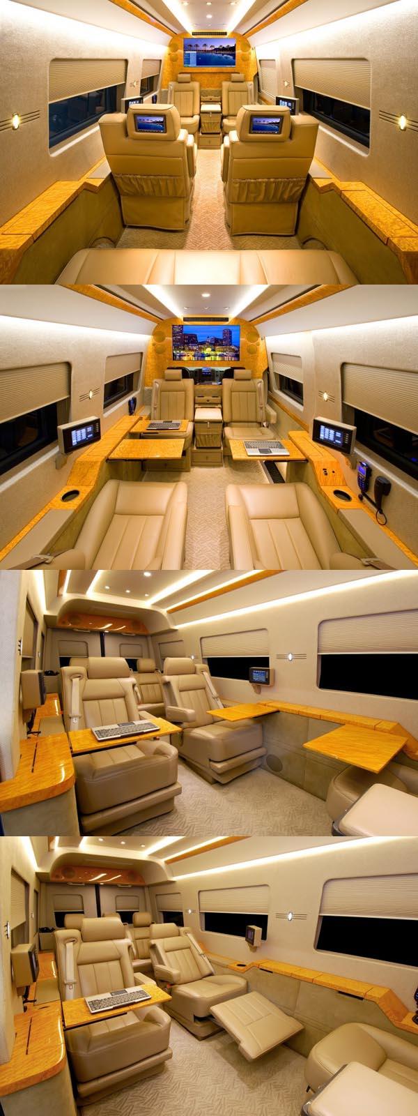 Mobil Mewah Modifikasi, Mercedes-Benz Sprinter Van