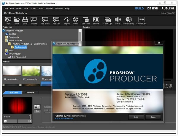 Photodex ProShow 8 Producer Gold Incl Crack - Softasm
