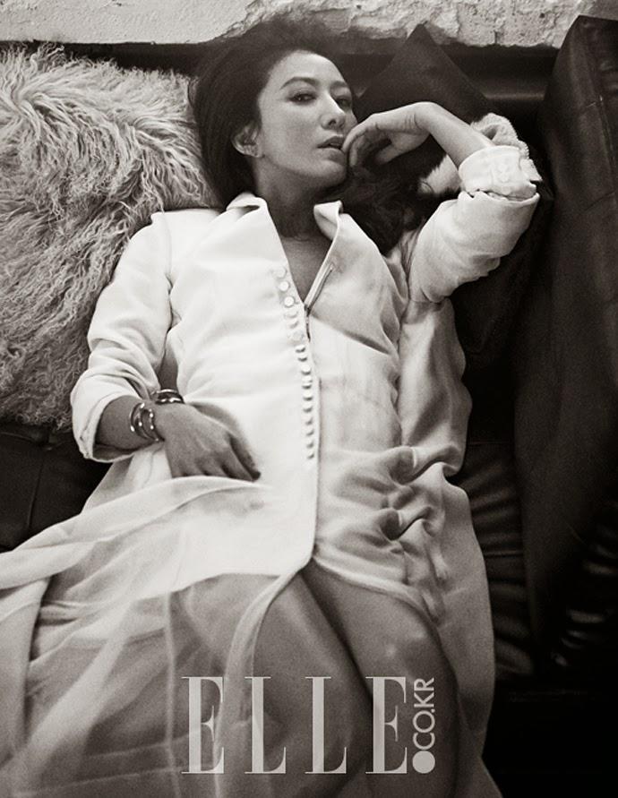Kim Hee Ae Yoo Ah In - Elle Magazine April Issue 2014