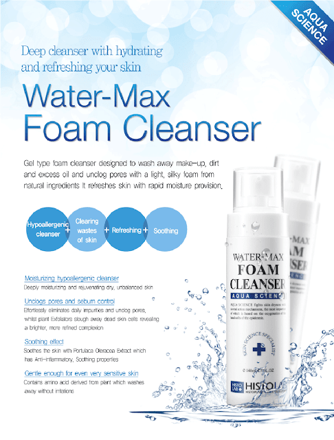 Histolab Water-Max Foam Cleanser review