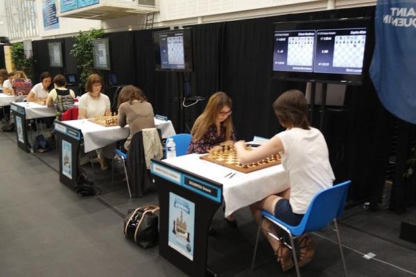 Le National féminin d'échecs 2015 © FFE