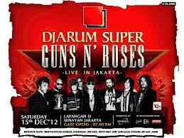 guns n roses, konser, tour jakarta