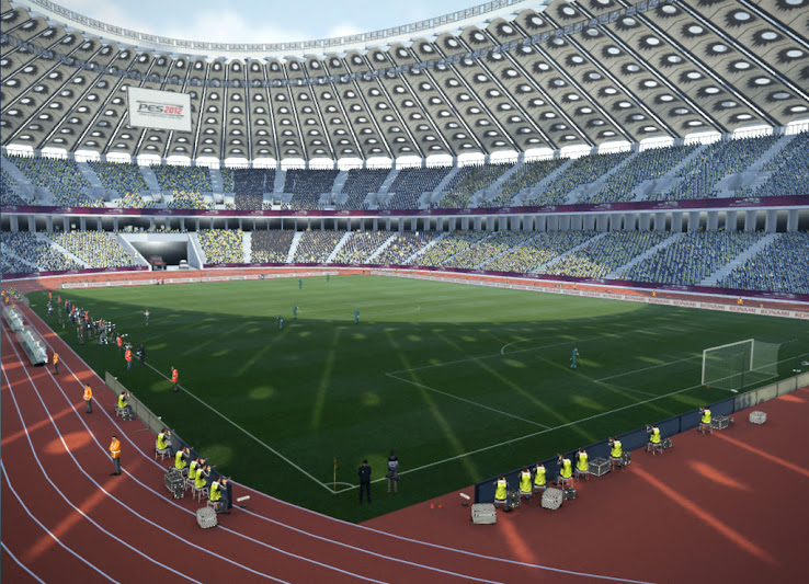 PES 2012 NSK Olimpiyskiy Stadium by jnny