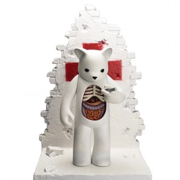"San Diego Comic-Con 2013 Exclusive ""Self-Medicated"" Target Resin Figure by Luke Chueh & Jason Freeny"