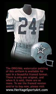 Dallas Cowboys 1971 uniform
