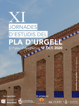 XI JORNADES D'ESTUDIS SOBRE EL PLA D'URGELL 2020