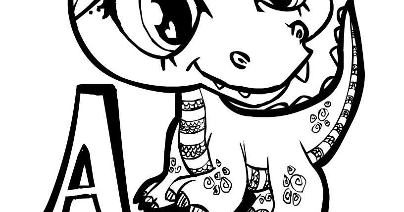 Alligator Coloring Pages To Cut Out