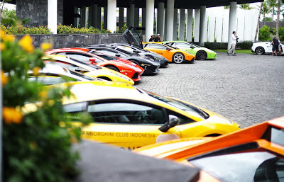 Foto Clubbing Indonesia Lamborghini Club Indonesia