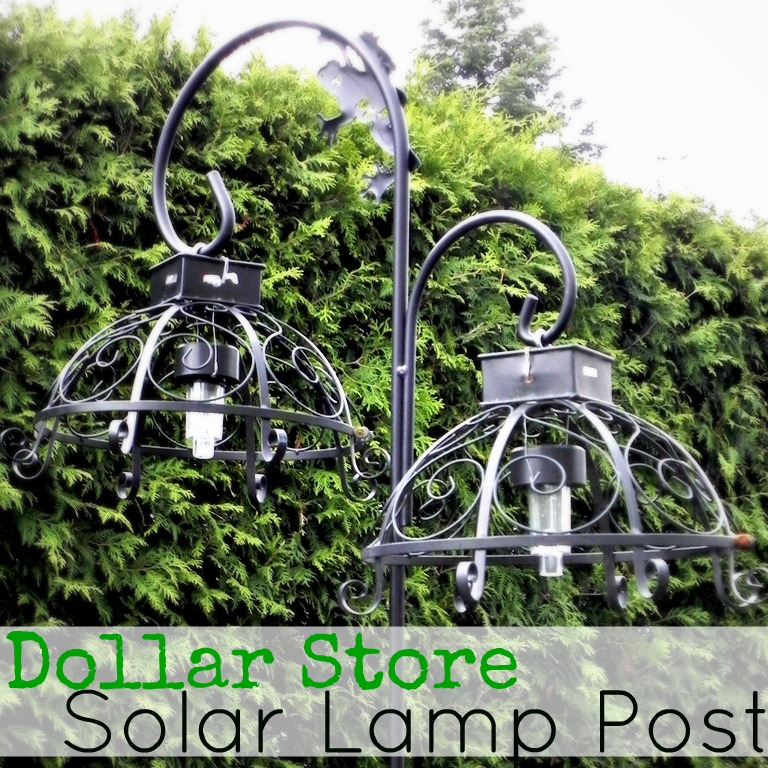 I Did Not Come Up With The Idea Of Taking Solar Lights From Dollar Tree And  Turning Them Into Outdoor Hanging Lights. Sharon From Keen Inspirations  Linked ...