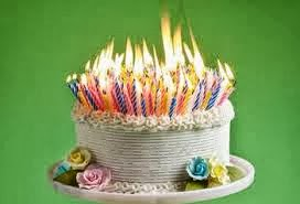 birthday cake fire Fire Is Fun. Here Is Your Birthday Cake Billy   Blow! | DOGBRINDLE.COM birthday cake fire