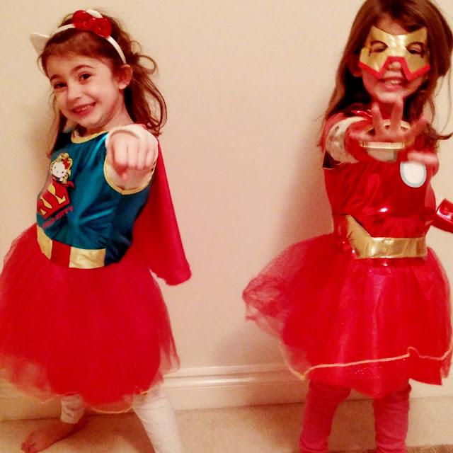 girls as superhero