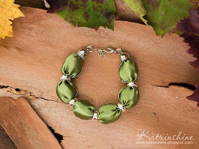 moss green bracelet