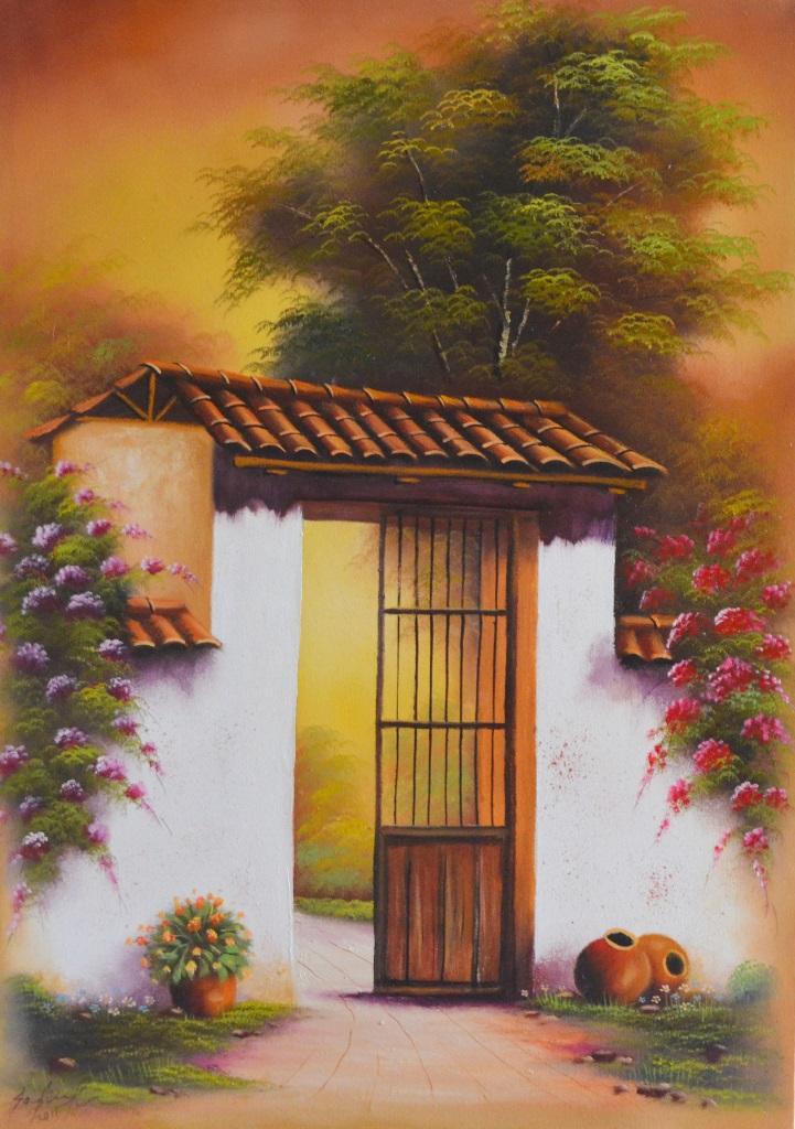 Im genes arte pinturas paisajes f ciles de pintar - Como pintar cuadros faciles ...