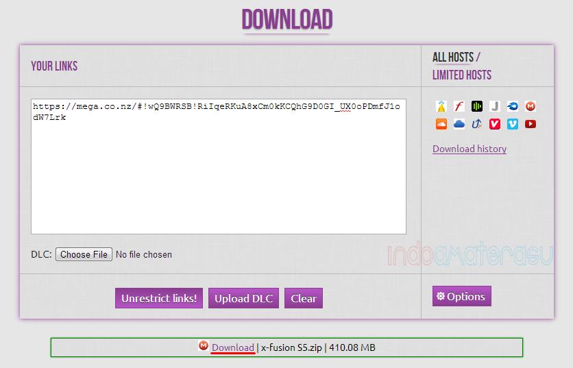 Cara download file di Mega.Co.Nz 2