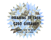 Dreaming of #CASH $250 #PayPal #CASH #Giveaway! To 1-30