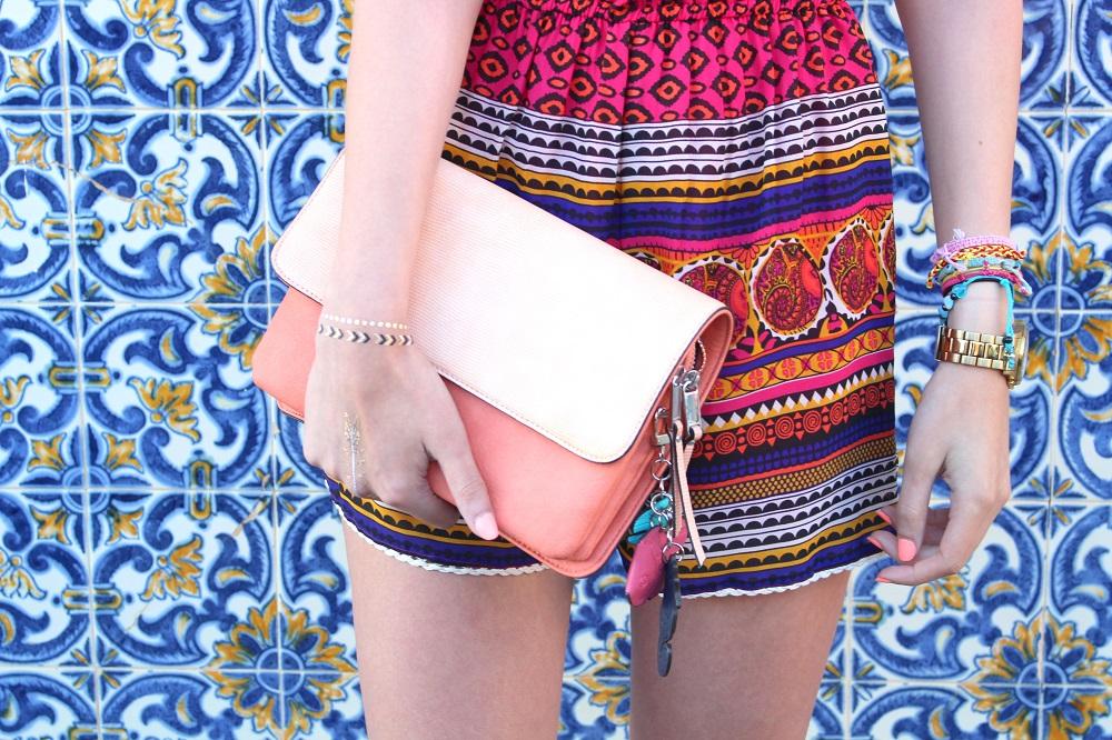 peexo fashion blogger wearing playsuit