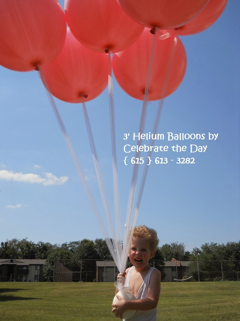 Big Helium Balloons are perfect for many occasions!