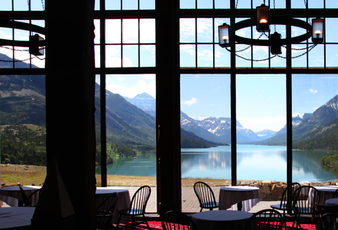 prince of wales hotel alberta rocky mountains travel photography