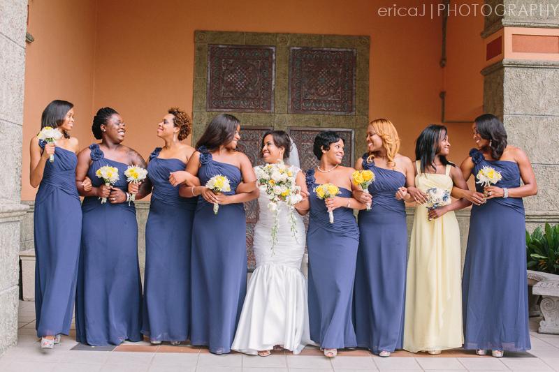 navy and yellow wedding photo signature grand wedding