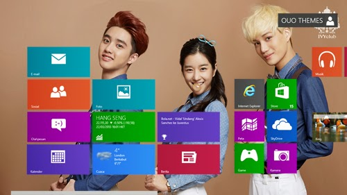 Exo Theme For Windows 7 And 8 8.1