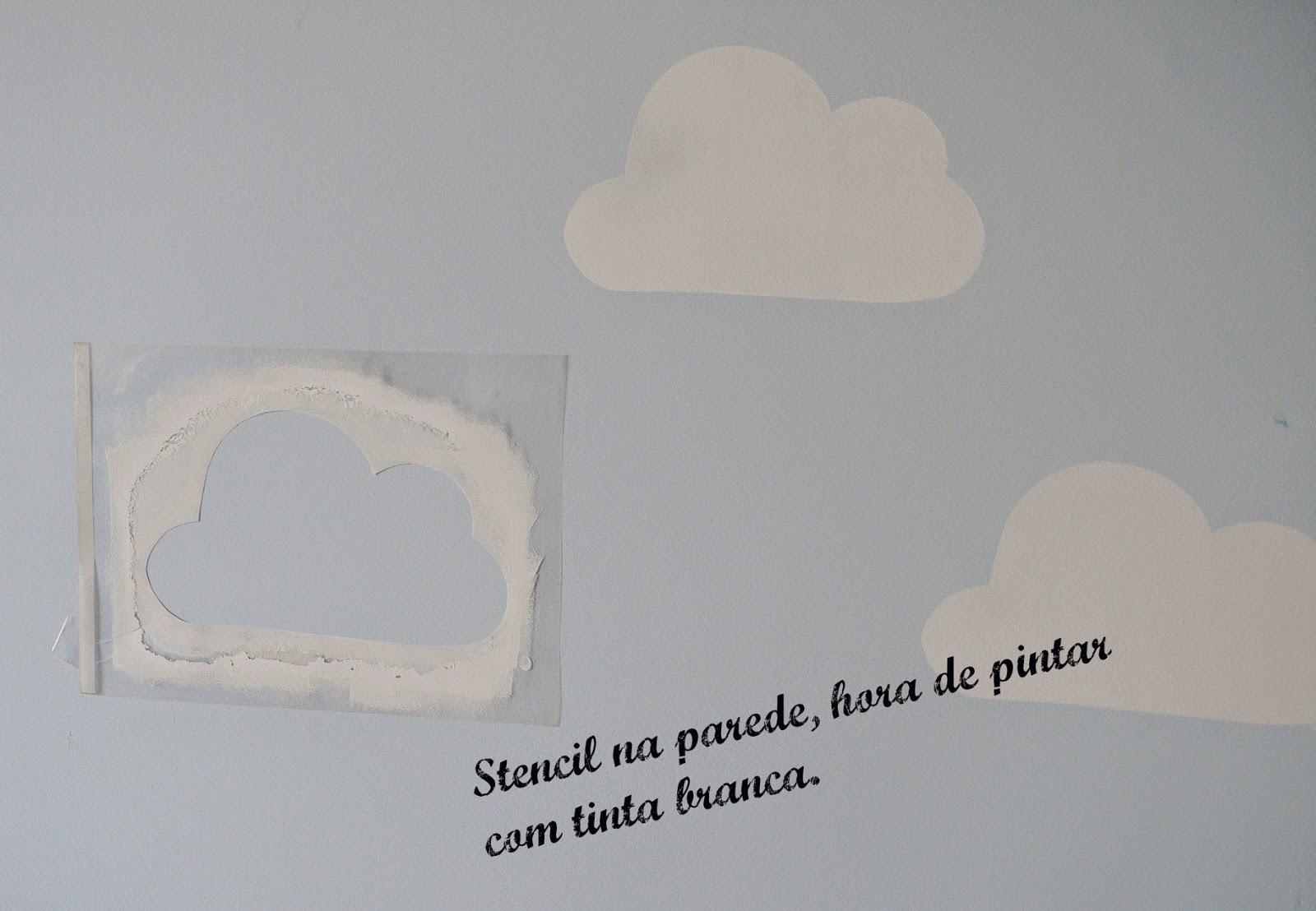 Artes Da Pró Lú Parede De Nuvens Decoração Quarto De Bebê
