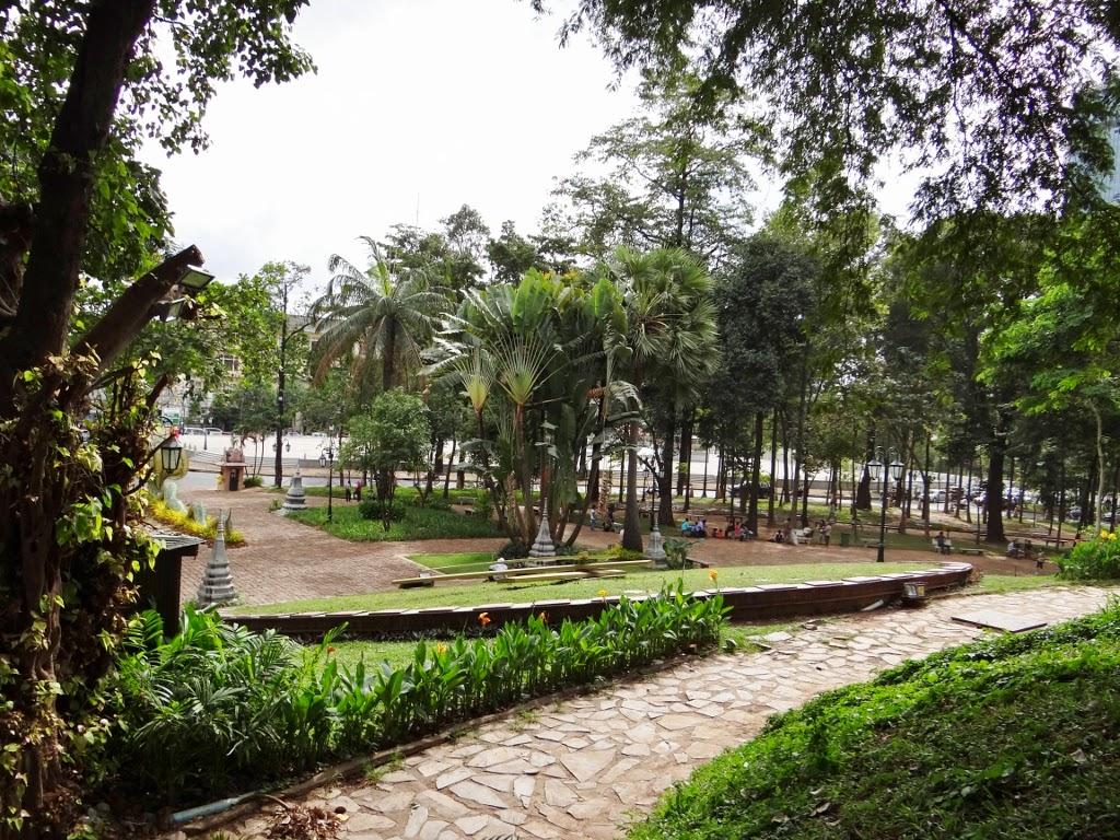 Świątynia Wat Phnom - Phnom Penh