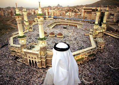 Pandangan Atas Kota Mekah Semasa Musim Haji