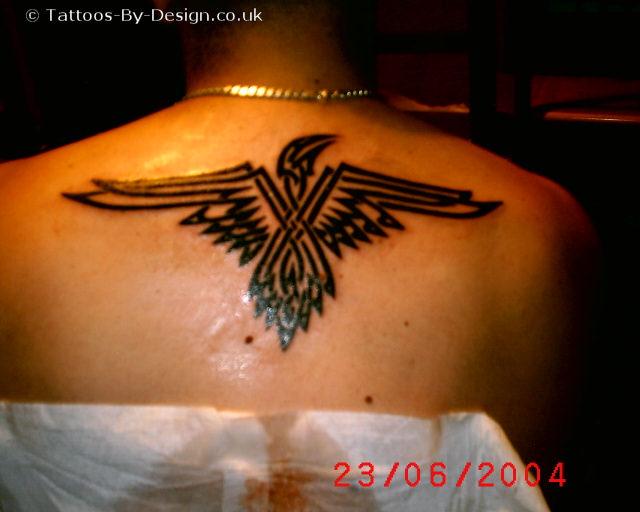The tribal tattoos tribal eagle tattoos for Tribal eagle tattoos
