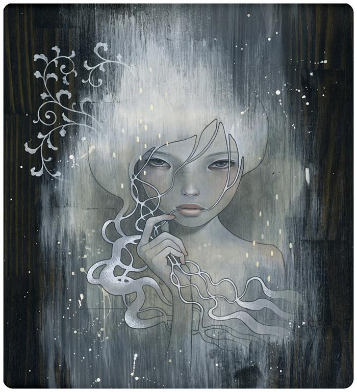 Doctor Ojiplático. Audrey Kawasaki. Ilustración   Illustration. she who dares