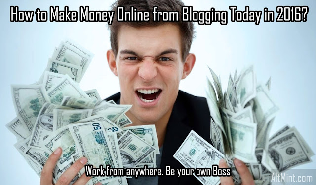 How to Make Money Online from Blogging Today in 2016