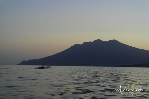 View of Mt. Malindig from Torrijos Marinduque Philippines