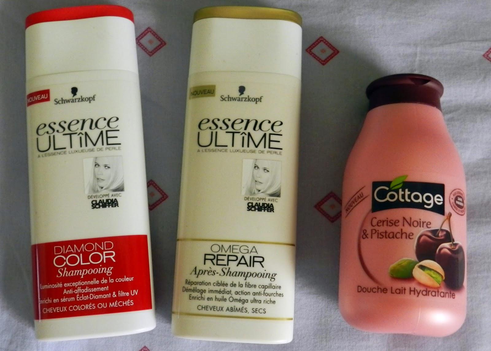 Schwarzkopf Essence Ultime Shampoo & Conditioner, Cottage shower milk