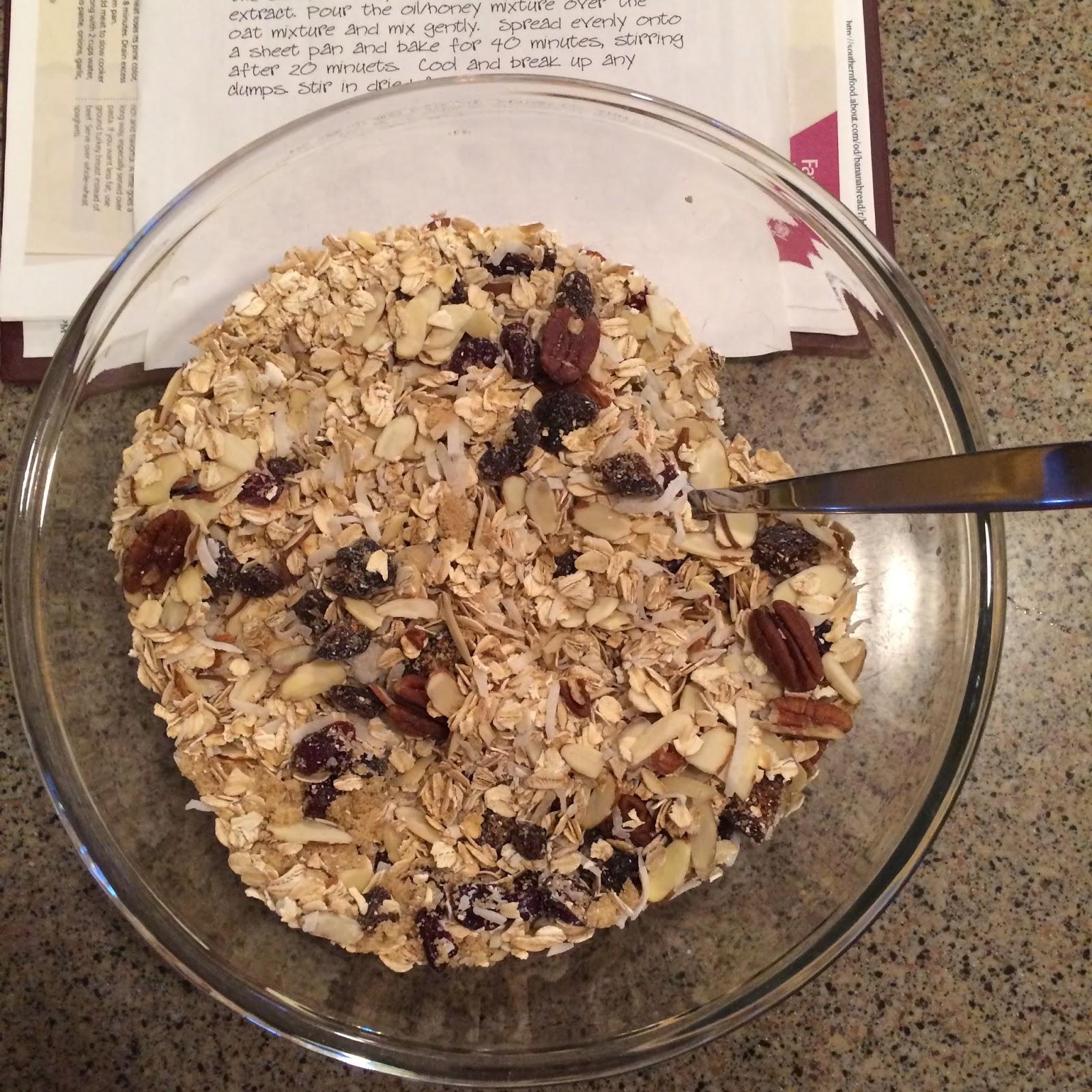 Coconut Granola, Breakfast, Project Soiree