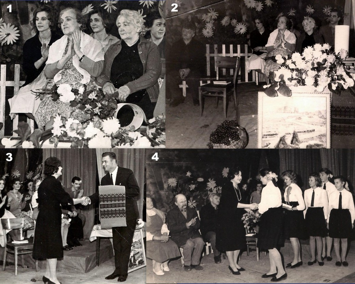 Pasākums 1965. gadā Vallē