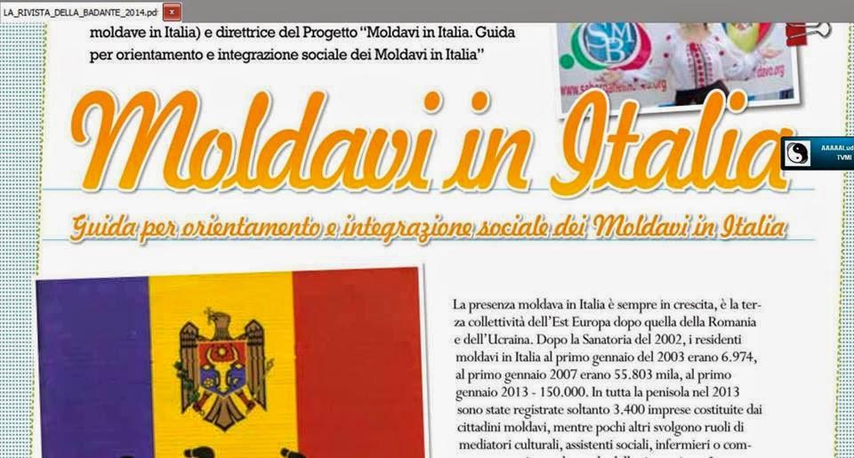 MOLDAVI IN ITALIA 2014