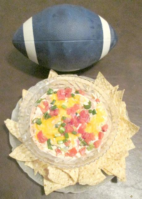 Taco Dip snack Recipe for Super Bowl