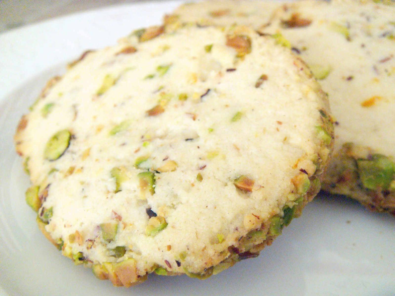 Pistachio Cardamom Cookies - Baked by Joanna