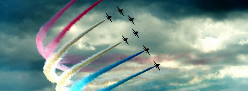 Air show facebook cover