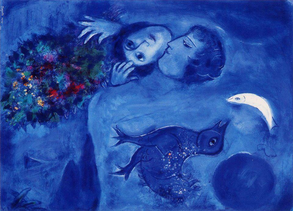 Embusteria la belleza a marc chagall for Chagall tableau
