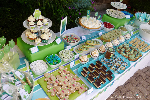 buffet android 3/4 / android sweet table