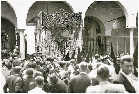 Macarena en Hospital Cinco Llagas (archivo ABC)- Sevilla
